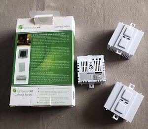 3 x Lightwave New GEN 1 Smart Dimmer Replacement Module White 1 Gang