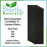 """Germ Guardian FLT5000 Replacement Carbon Filters """"C"""" for AC5000 Series Purifiers"""