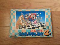 Super Mario Bros. 3 Nintendo Famicom NTSC-J Japan Import