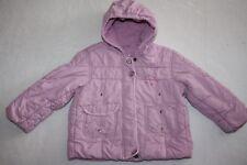 MEXX * Baby Winter Stepp Jacke / Gr.86 rosa lila Fleece Kapuze Wind - Wetterfest