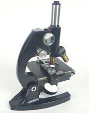 Vintage World War II Bausch & Lomb US Navy Brass Microscope WW2 UL884 1937-1942