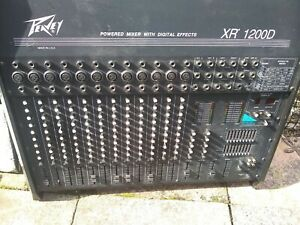 Peavey XR1200D power amp/mixer