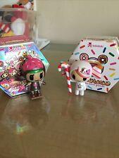 Tokidoki Donutella Caramella Candy Cane (series 1) & Choco Ninja (series 2)