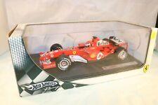 Hotwheels F1 Ferrari F2005 Rubens Barichello MARLBORO DECALS 1:18 MIB SCARCE