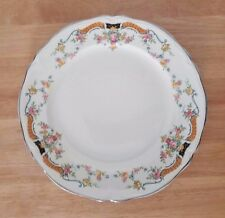 "The Edwin M. Knowles China Co 36-11 dinner plate 9"" roses, flowers"