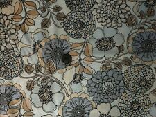 Shades Of Grey Fabric #8827 9 Floral on Grey OOP Quilt Shop Quality