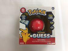 Pokemon Zanzoon Trainer Guess Game 6 years +