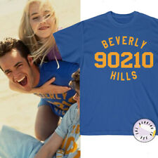 BEVERLY HILLS 90210 legendary beach T-shirt of Luke Perry Dylan Kelly Brenda tee