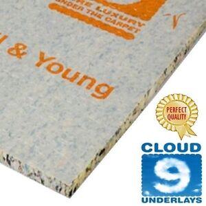 low price CLOUD 9 SUPER CONTRACT 10mm carpet underlay