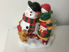 Yankee Candle Snowman & Friends Votive Holder + 5 Christmas Votives, Deerfield