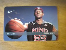 NIKE King James Collectible Gift Card