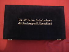 104x Gedenkmünze BRD 1952-2001 alle D-Mark Gedenmünzen ST/VZ in Box