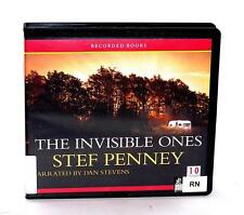 BOOK/AUDIOBOOK CD Stef Penney Fiction Novel Mystery THE INVISIBLE ONES