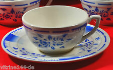 traumhaftes ART DECO Kaffeeservice 12P. Spritzdekor ROSEN Faiencerie Niderviller