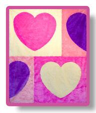 Melissa & Doug Hearts Blanket (NEW) 3987 (4 feet X 5 feet)