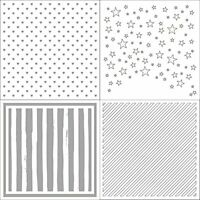 Plastic Embossing Folders Stencil Template Scrapbooking Paper Card DIY Decor