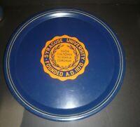 Vintage Syracuse University Orangemen Metal Tray 15 1/2' Diameter Fine