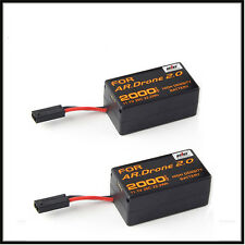 2X 2000mAh 11.1V Powerful Li-Polymer Battery For Parrot AR.Drone 2.0 Quadcopter