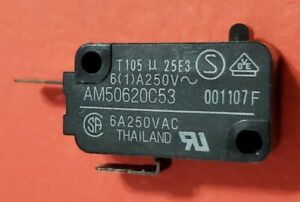 Matsushita Micro Switch Microwave Oven Door AM50620C53 T105 250VAC 16A
