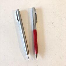Sheaffer Mechanical Pencil Vintage 1980's Set Of 2 Tested, Working, HTF US Made