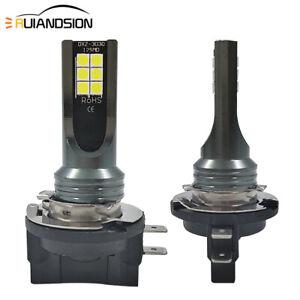 2pcs 6000K H11B 3030 12 LED Fog Light Front DRL Bulb for KIA White 800LM 10-30V