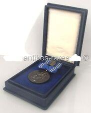 DDR Clara Zetkin Medaille in 900 (Ag) Silber im Etui, Für Frieden & Sozialismus