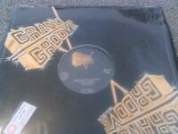 """T/SKI VALLEY / GRAND GROOVE - CATCH THE BEAT / GROOVE 12"""" 45 RPM EX!!! IN SHRINK"""
