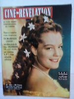 CINE-REVELATION n°106 /  Couv : ROMY SCHNEIDER,  Poster GINA LOLLOBRIGIDA, NEUF