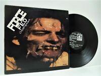 FORCE FED claustrophobia LP EX/VG FACE 08 vinyl, album, hardcore, punk, uk, 1989