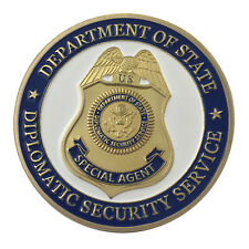 United States Diplomatic Security Service GP Challenge Coin 1312#