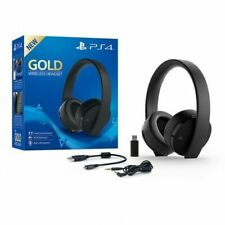 Sony Gold Wireless Auriculares para PlayStation 4 - Negros