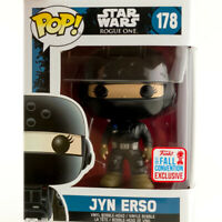 2017 Exclusive JYN ERSO #178 Star Wars Rogue One Funko Pop Vinyl Action Figure