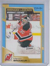 20/21 OPC New Jersey Devils Martin Brodeur Marquee Legends Blue Border #539