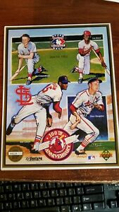 1992 St Louis Cardinals Upper Deck Heroes Of Baseball 100th Anniversary Card