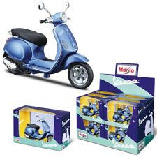 1:12  Vespa Primavera 150 White Red Blue Maisto Scooter Motorcycle Diecast