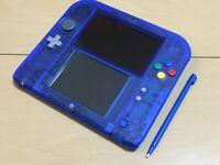 Pokemon store limited pack Nintendo 2DS Pokemon Blue Pokemon Center From Japan