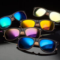 NEW Mens Womens Unique Style Indie Fashion Wood Print Retro Sunglasses x1
