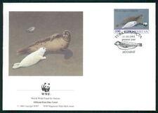 TÜRKMENISTAN FDC FAUNA ROBBE CASPIAN SEAL KASPI-RINGELROBBE PHOCA PHOQUE dz05