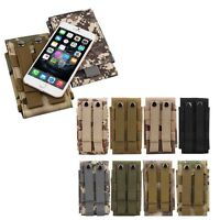Universal Army Camo Bag for Mobile Phone Belt Loop Hook Cover Holster Pouch Case