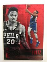 2017-18 Panini Essentials Red Markelle Fultz RC Rookie Philadelphia 76ers