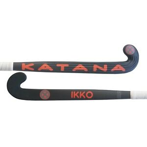 "38.5"" Light Weight Low Bow Katana Ikko Field Hockey Stick, 90% Carbon Slim Shaft"
