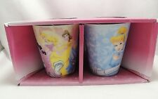 Disney Princess Coffee Tea Cocoa Cup Mug 10 oz Set 2 Cinderella Ariel Snow White