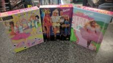 "3 LOT BARBIE 100 PC PUZZLES GOLDEN 11.5""x15"" 4605-51 4096B-1 4096D-3  NEW SEALED"