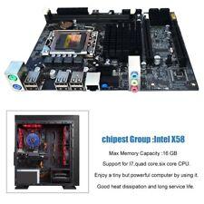 Desktop Motherboard Mainboard For X58 LGA 1366 DDR3 16GB Support ECC RAM UAE