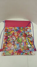 SHOPKINS PRINTS PINK COLOR 12 INDIVIDUAL KID PARTY DRAWSTRING NON WOVEN BAGS