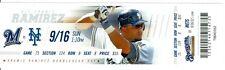 2012 Brewers vs Mets Ticket: Chipper Jone 2 HRs & 2,700th career hit