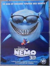 Affiche LE MONDE DE NEMO Finding Nemo ANDREW STANTON Lee Unkrich 40x60cm