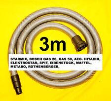 starmix Industriesauger Saugschlauch 3m Staubsaugerschlauch für MAFFELL S 25 S50