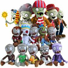 Plants vs Zombies PVZ Figures Plush Baby Staff Toy Stuffed Soft Dolls 15cm-30cm