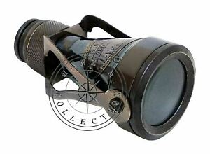 Brass Antique Binocular Monocular Maritime Vintage Nautical Royal Navy Telescope